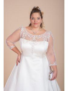 Eternity organza és tafft molett menyasszonyi ruha ... 93c09a8856