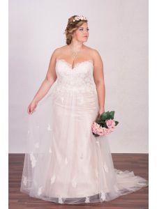 Eternity organza és tafft molett menyasszonyi ruha ... 841b2c751e