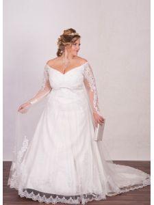14336e01e9 Molett menyasszonyi ruhák, plus size esküvői ruhák - Divatos és ...