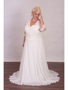 Eternity organza és tafft molett menyasszonyi ruha ... c3cbbb3729